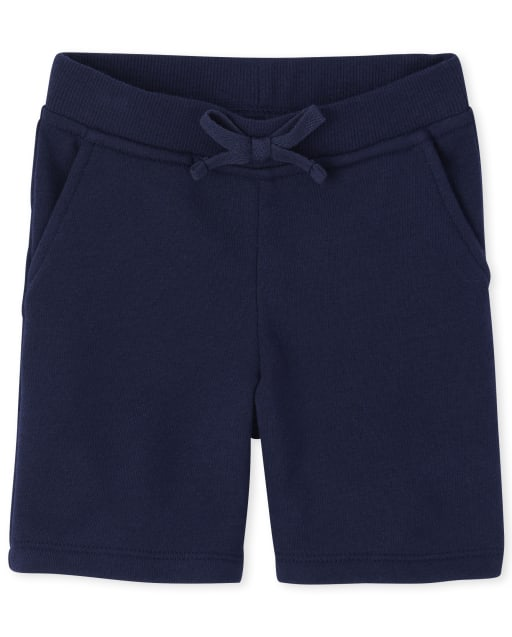 Toddler Girls Uniform Active French Terry Shorts