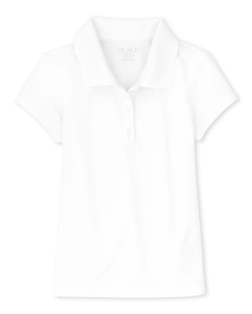 Girls Uniform Short Sleeve Performance Polo