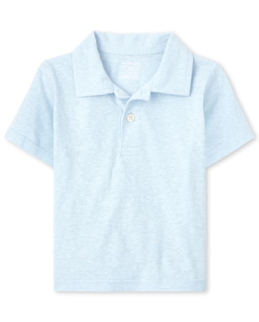 Baby And Toddler Boys Short Sleeve Jersey Polo