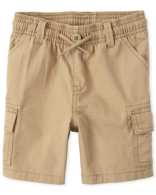 Baby And Toddler Boys Woven Pull On Cargo Shorts