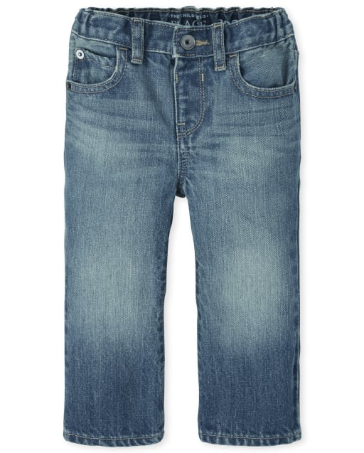 Baby And Toddler Boys Basic Bootcut Jeans - Pierce Wash