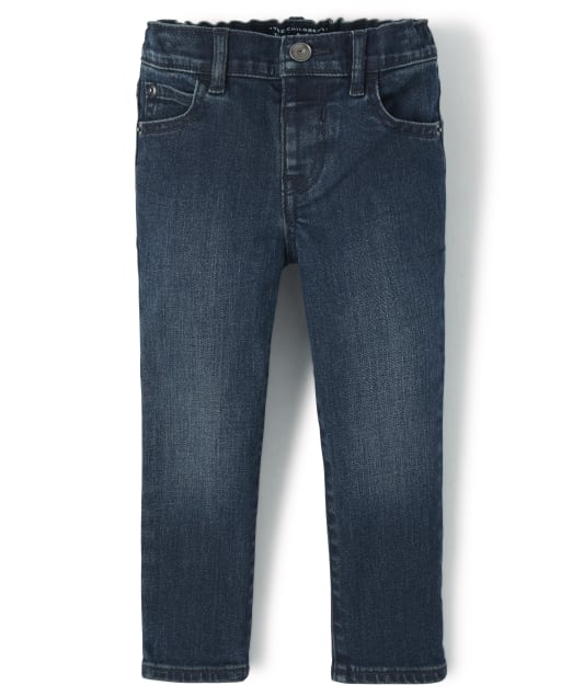 Baby And Toddler Boys Skinny Stretch Jeans - Taft Wash