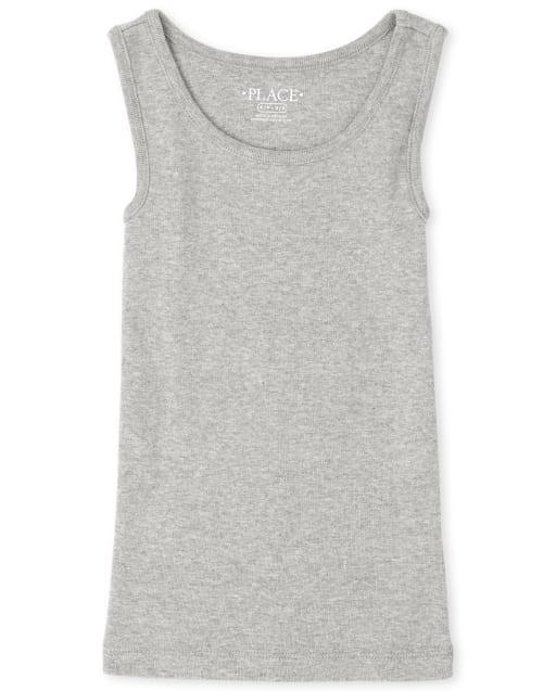 Girls Uniform Sleeveless Basic Tank Top
