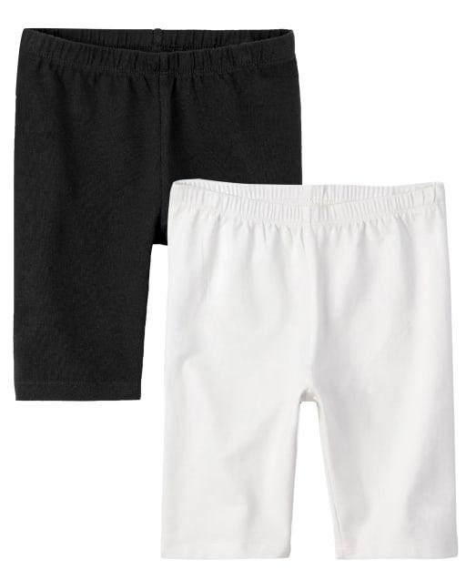 Girls Mix And Match Knit Bike Knit Shorts 2-Pack