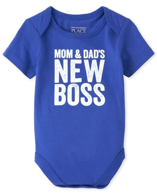 Body estampado para bebés, mamá y papá