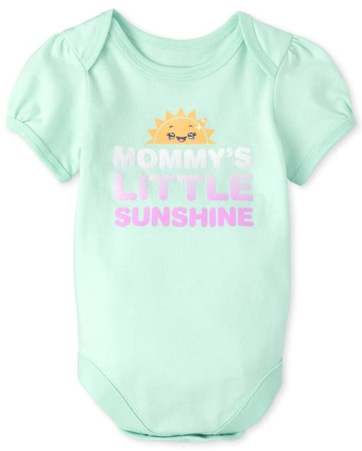 Body con estampado Sunshine de Baby Girls Mommy ' s