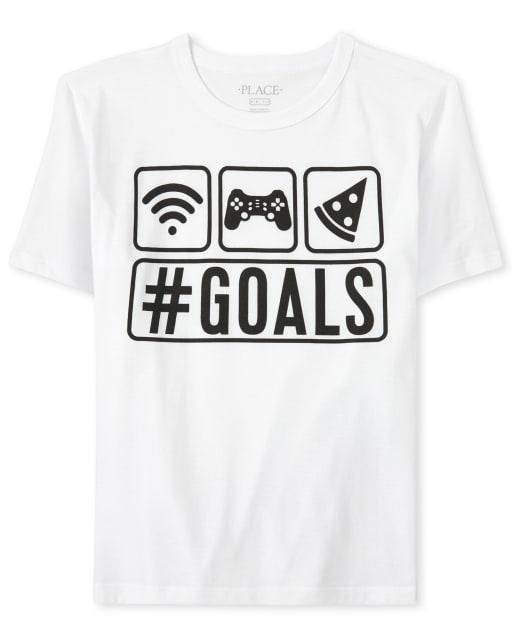 Camiseta estampada Goals Boys