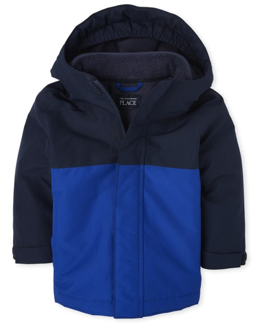Toddler Boys Long Sleeve 3 In 1 Jacket