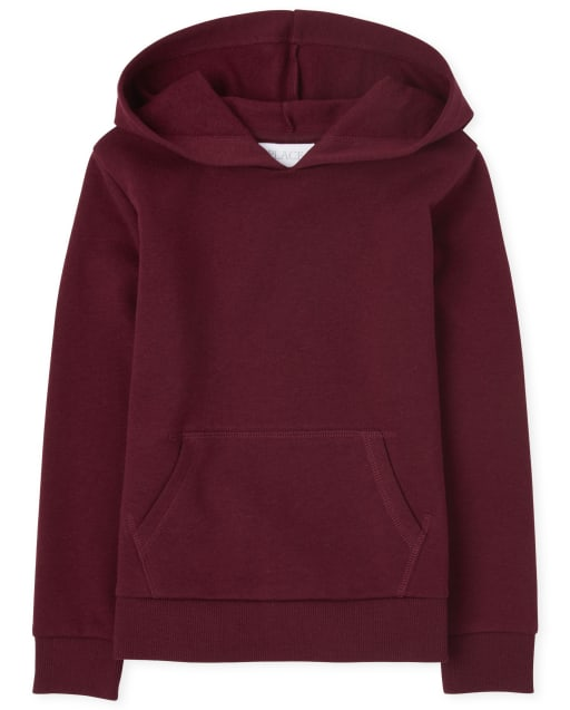 Girls Active Long Sleeve French Terry Hoodie