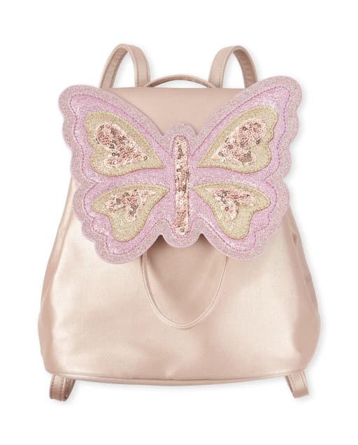 Girls Embellished Butterfly Mini Backpack
