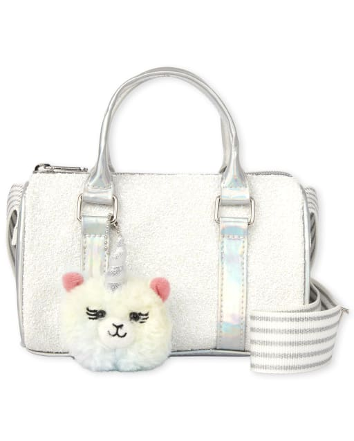 Girls Glitter Llamacorn Bag