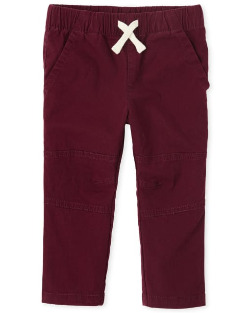 Baby And Toddler Boys Stretch Woven Jogger Pants