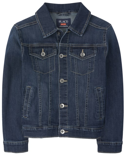 Boys Stretch Denim Jacket