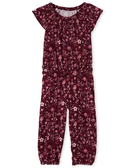 Mono floral para bebés y niñas pequeñas