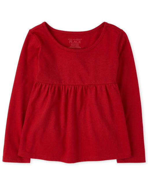 Baby And Toddler Girls Long Sleeve Tunic Top