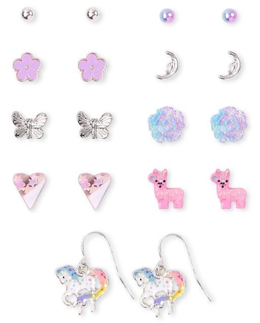 Girls Magical Earrings 9-Pack