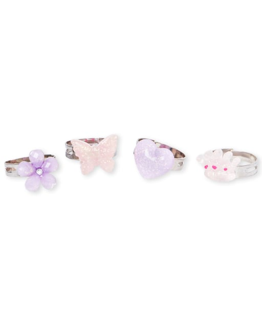 Girls Garden Ring 4-Pack