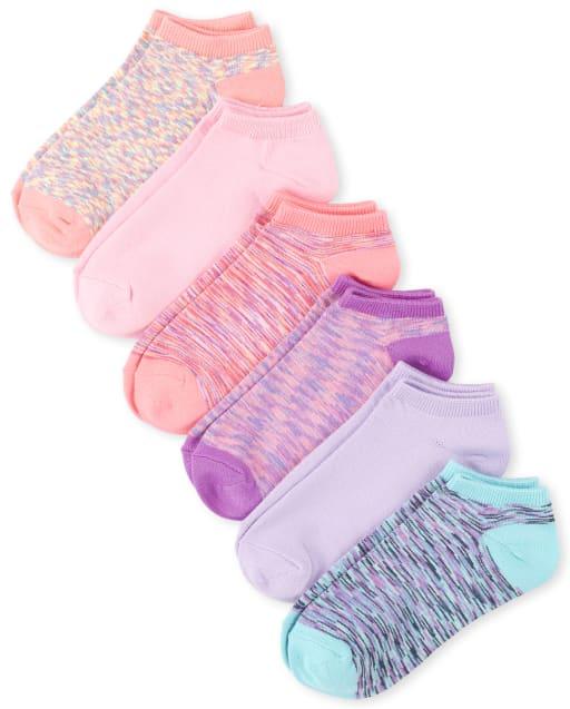 Girls Ankle Socks 6-Pack