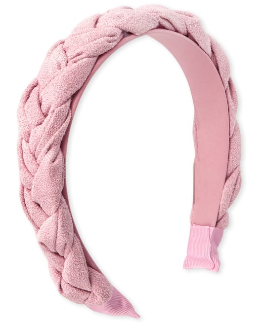 Girls Shimmer Braided Headband