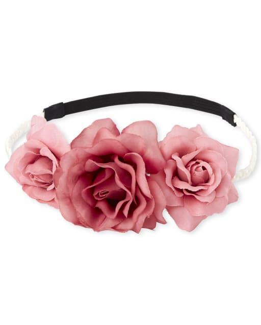Toddler Girls Flower Braided Headwrap