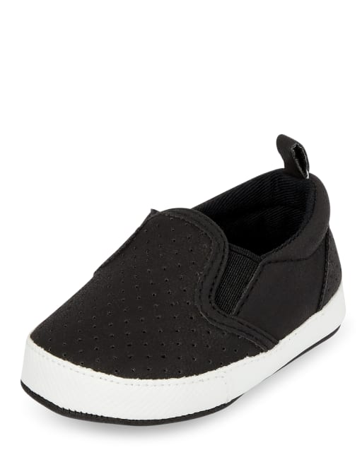 Baby Boys Perforated Slip On Sneakers