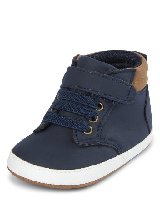 Baby Boys Hi Top Sneakers