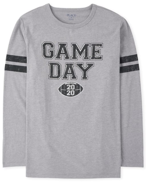 Unisex Adult Matching Family  Long Sleeve 'Head Coach' Football Matching Graphic Tee