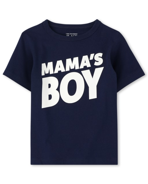 Camiseta estampada Baby ' Toddler Boys Mama ' s Boy