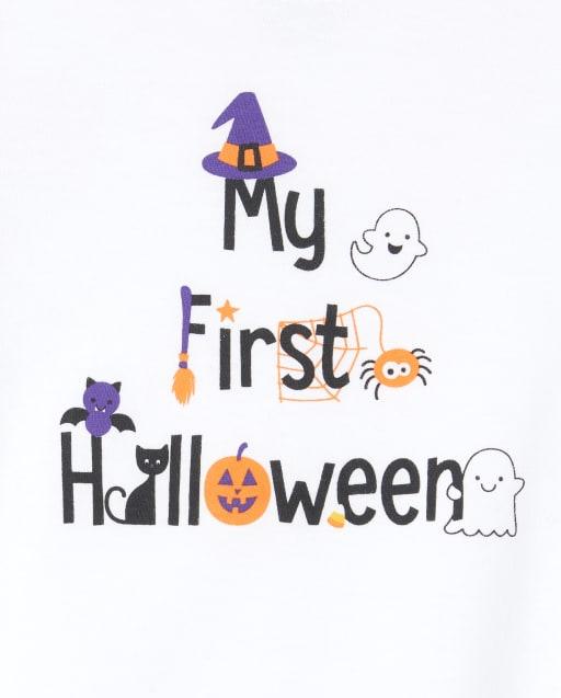 Halloween 2020 Graphic Unisex Baby Halloween Long Sleeve 'My First Halloween 2020