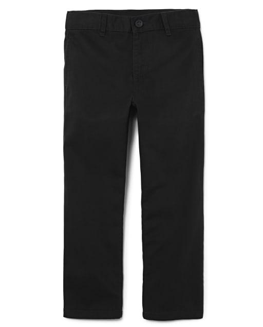 Boys Uniform Stretch Woven Chino Pants