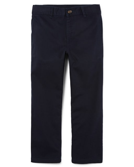 Boys Uniform Stretch Woven Chino Pants