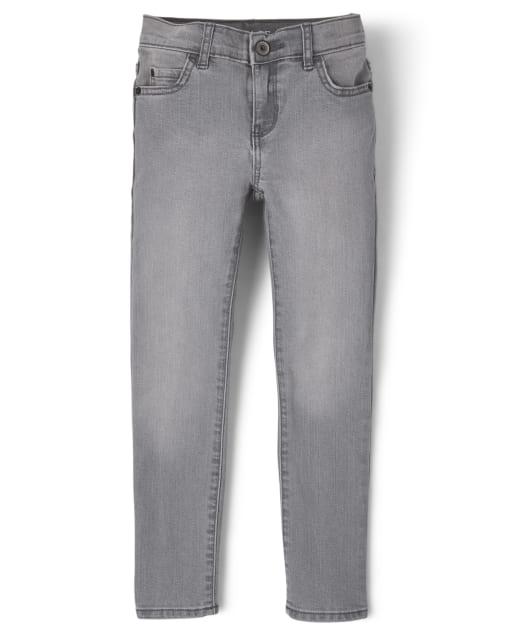 Boys Basic Stretch Skinny Jeans