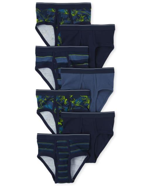 Pack de 7 calzoncillos Dino para niños