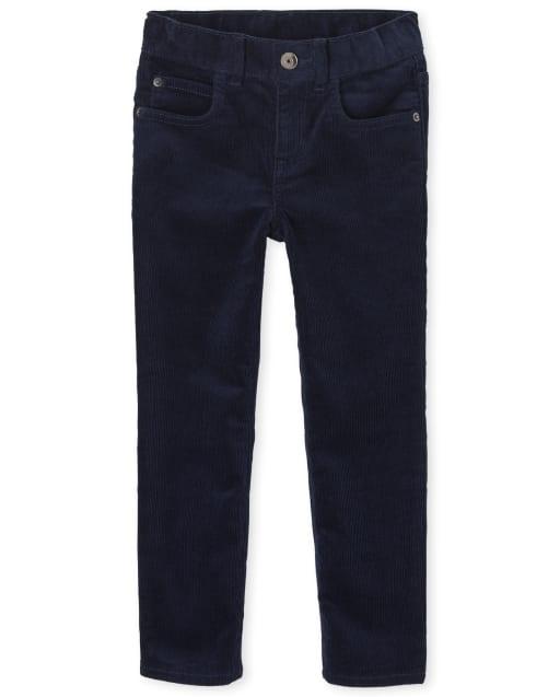 Pantalones de pana elástica para niños