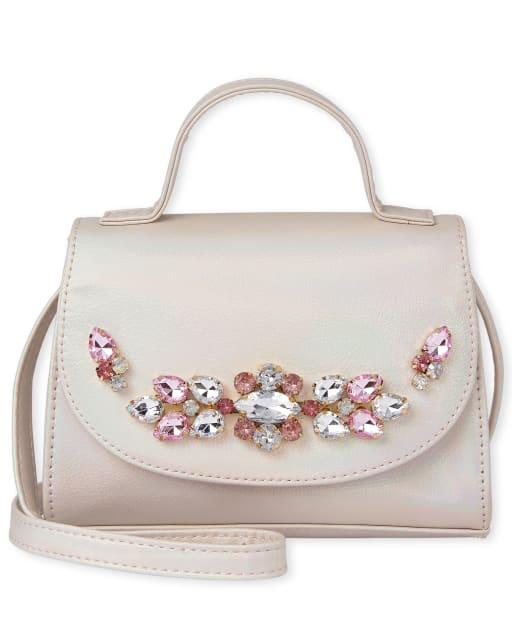 Bolso con joyas holográficas para niñas