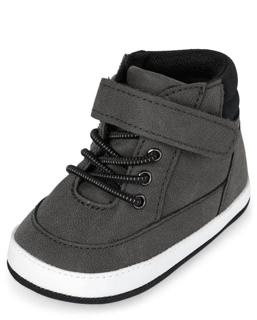 Zapatillas altas para bebé niño