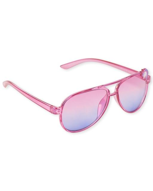 Toddler Girls Unicorn Aviator Sunglasses
