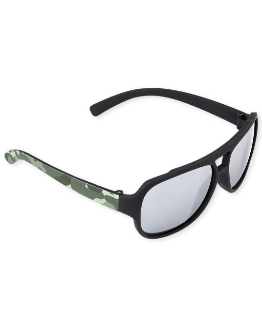 Toddler Boys Camo Sport Sunglasses