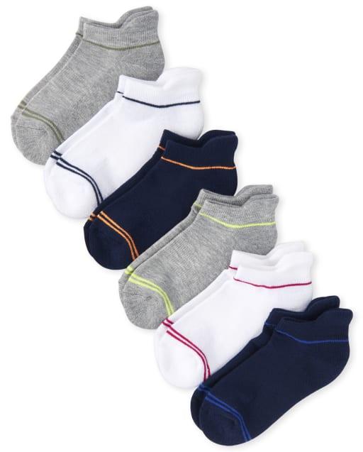 Pack de 6 calcetines tobilleros acolchados para niño
