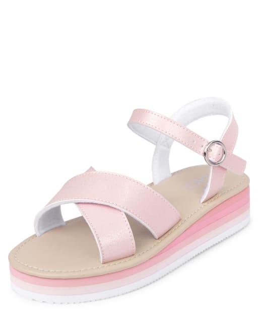 Sandalias de plataforma para niñas