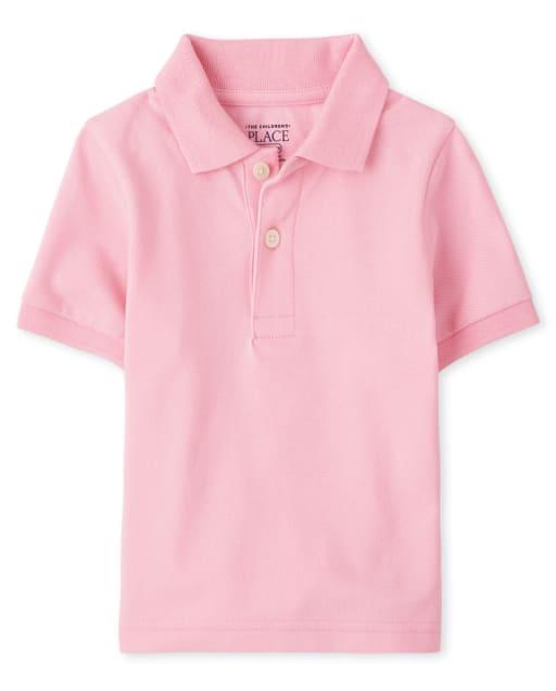 Baby And Toddler Boys Short Sleeve Pique Polo