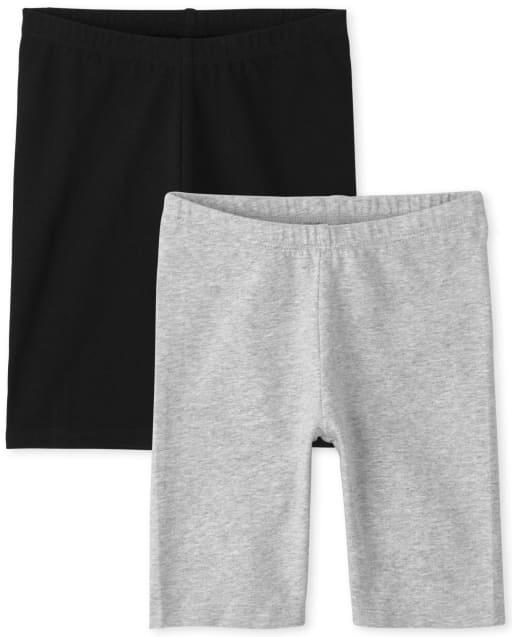 Pack de 2 pantalones cortos de ciclismo de punto Mix And Match para niñas