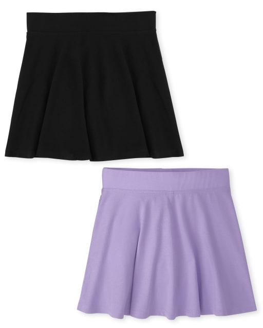 Pack de 2 falda pantalón para niña