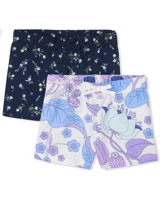 Pack de 2 pantalones cortos para niñas