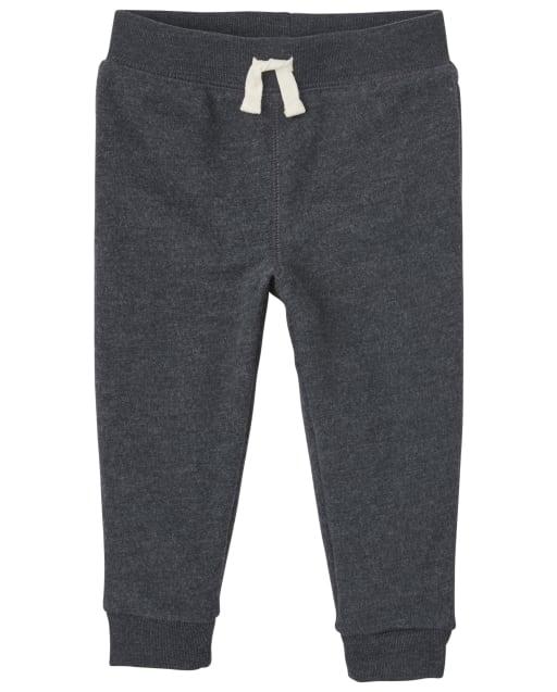 Baby And Toddler Boys Uniform Fleece Jogger Pants
