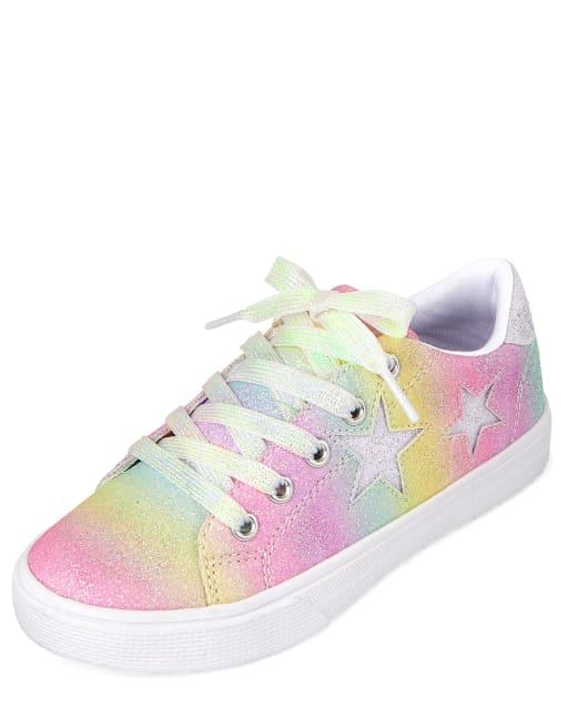 Tenis Niña Glitter Rainbow Star Low Top
