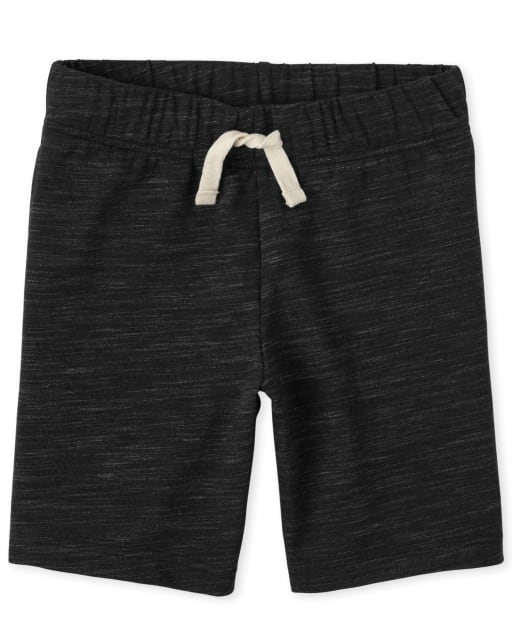 Boys Marled French Terry Shorts