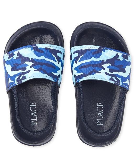 Toddler Boys Camo Slides