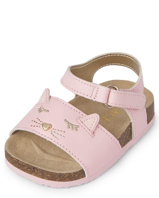 Baby Girls Cat Sandals