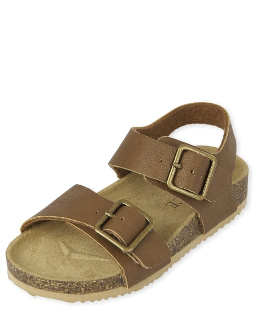 Toddler Boys Buckle Sandals
